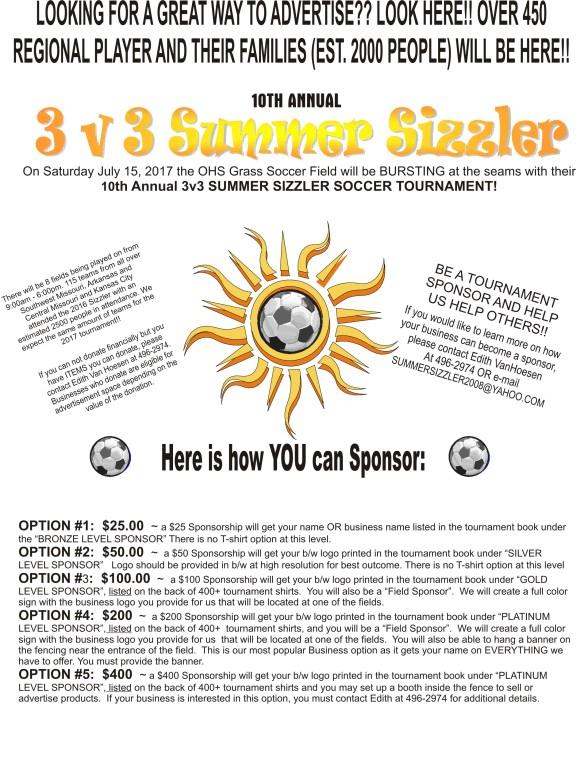 sizzler sponsor info 2017